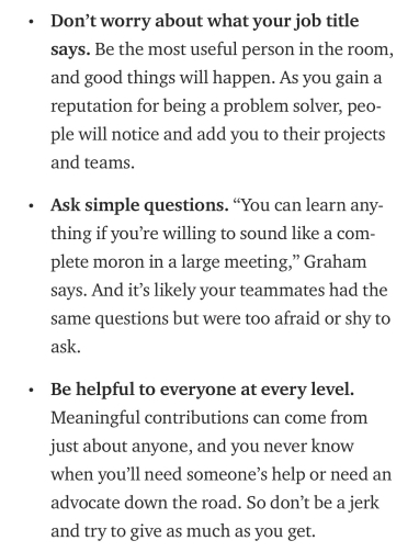 3 lessons - Molly Graham
